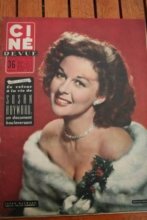 1956 Susan Hayward Jacques Sernas Rosalind Russell