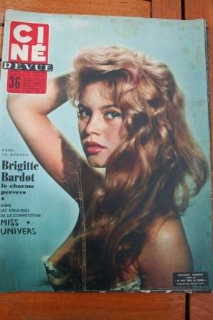 Brigitte Bardot Miss Universe Vera Ellen Victor Mature