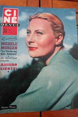 Michele Morgan Joan Crawford Belinda Lee Gilbert Becaud