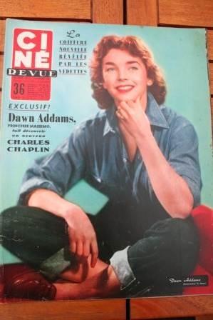 Dawn Addams Melina Mercouri Marilyn Monroe Ava Gardner