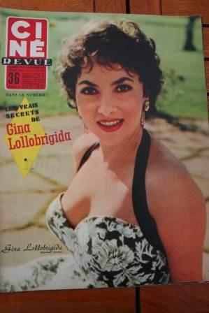 1956 Gina Lollobrigida Yul Brynner Audrey Hepburn Tati