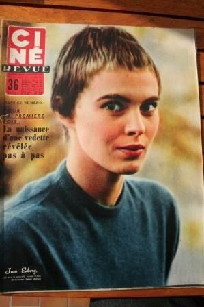 1956 Jean Seberg Audrey Hepburn Robert Wagner Bardot