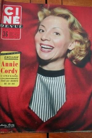 56 Annie Cordy Cary Grant Deborah Kerr Mamie Van Doren