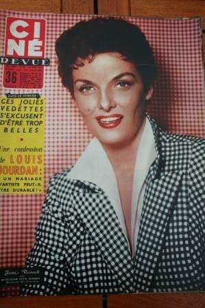 1956 Jane Russell Diana Dors Robert Taylor Maria Felix