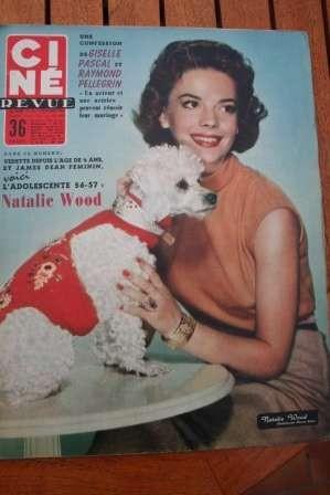 1956 Natalie Wood Anita Ekberg James Stewart Doris Day
