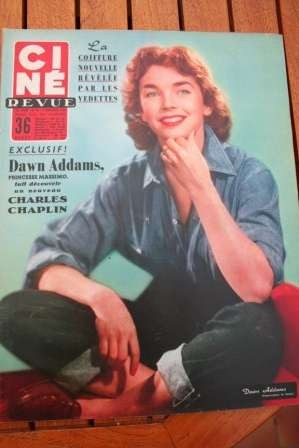 Dawn Addams Marilyn Monroe Ava Gardner Melina Mercouri