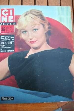 56 Marina Vlady James Cagney Gerard Philipe Lola Montes