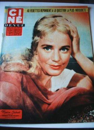 57 Maria Schell Yul Brynner Jayne Mansfield Woodward