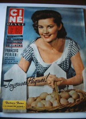 Barbara Bates Francois Perier Jane Wyman Bardot Vallone