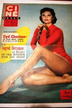 Cyd Charisse Ingrid Bergman Sophia Loren Joan Fontaine