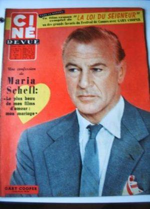 57 Gary Cooper Glenn Ford Maria Schell Arsene Lupin