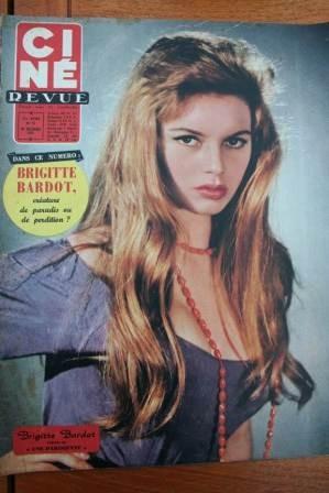 Brigitte Bardot Richard Todd Glynis Johns Lauren Bacall