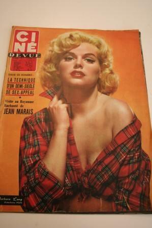 1957 Jean Marais Jayne Mansfield Yvonne De Carlo