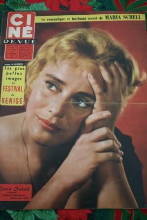 57 Maria Schell Harry Belafonte Jayne Mansfield Arnoul