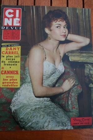 57 Dany Carrel Anita Ekberg Susan Hayward Maria Schell