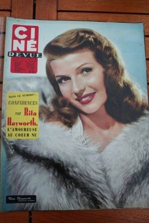 Rita Hayworth Robert Taylor Rossana Podesta Alan Ladd