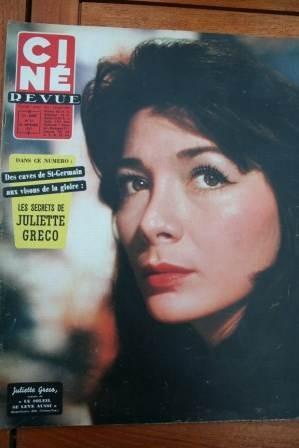 Juliette Greco Audrey Hepburn Betty Grable Lana Turner