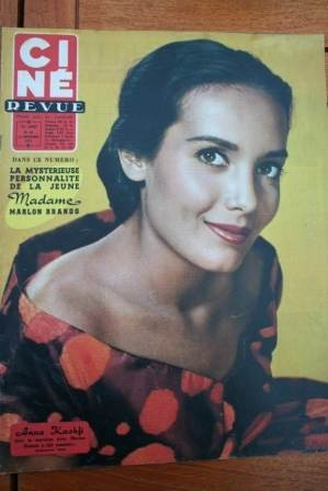 57 Anna Kashfi Sophia Loren Mike Todd Diana Dors Becaud