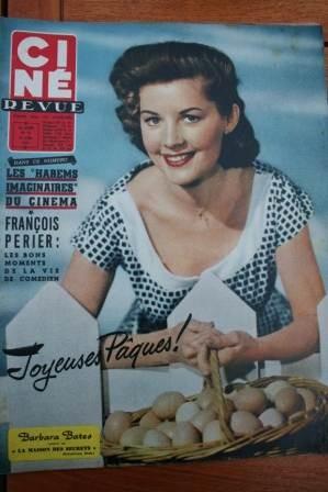 1957 Barbara Bates Francois Perier Jane Wyman Bardot