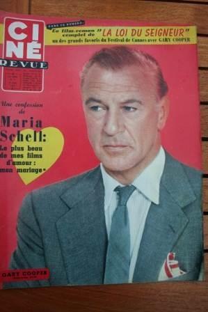 1957 Gary Cooper Glenn Ford Maria Schell Deborah Kerr