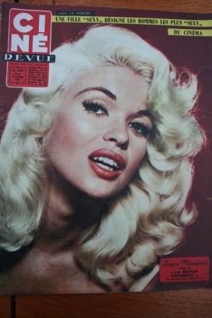 1957 Jayne Mansfield Elvis Presley Barbara Nichols