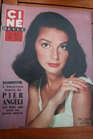 57 Pier Angeli June Allyson Mel Ferrer Francoise Sagan