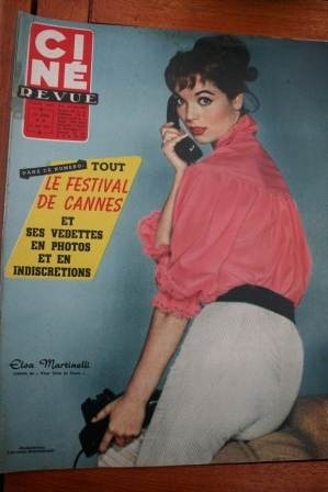 Elsa Martinelli Don Murray Ava Gardner Doris Day Bartok