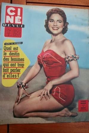 1957 Terry Moore Mylene Demongeot Peter Van Eyck Brazzi