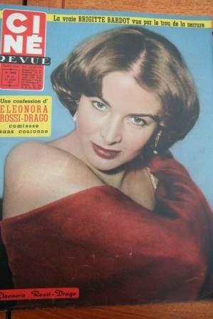 1957 Eleonora Rossi Drago Van Johnson Brigitte Bardot