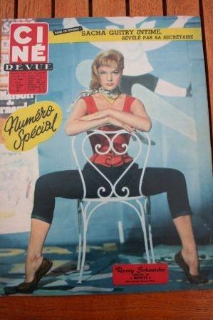 Romy Schneider Belinda Lee Ava Gardner Brigitte Bardot