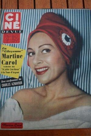 57 Marilyn Monroe Martine Carol Aznavour Gerard Philipe