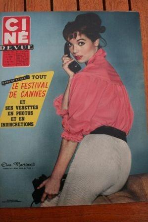 1957 Elsa Martinelli Ava Gardner Don Murray Doris Day