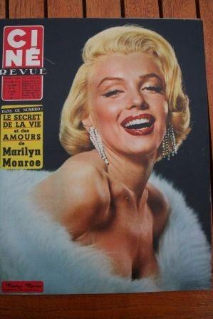Marilyn Monroe Gordon MacRae Burt Lancaster Rock Hudson