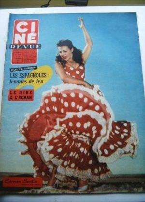 Carmen Sevilla Stewart Granger Mitzi Gaynor John Wayne