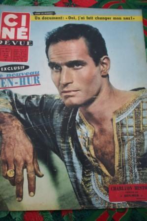 Charlton Heston Ben Hur Tati Alan Ladd Romy Schneider