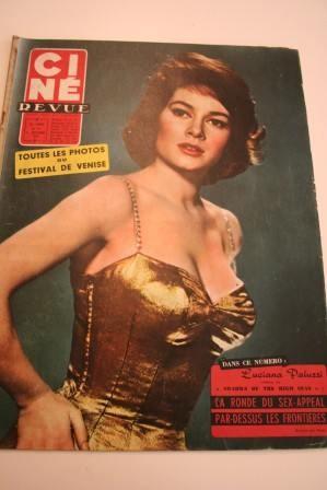 Magnani Brigitte Bardot Danny Kaye Pier Angeli Sinatra
