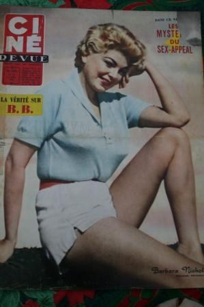 1958 Ingrid Bergman Joanne Woodward Anita Ekberg Bardot