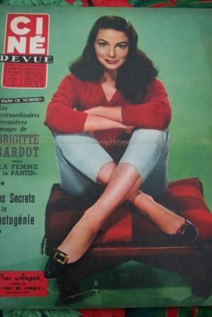 Pier Angeli Danny Kaye Brigitte Bardot Ten Commandments
