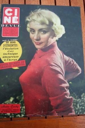 1958 Annie Cordy Lilli Palmer Dirk Bogarde Yoko Tani