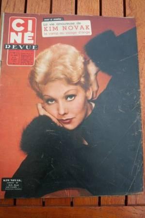 1958 Kim Novak Gassman Brigitte Bardot Gerard Philipe