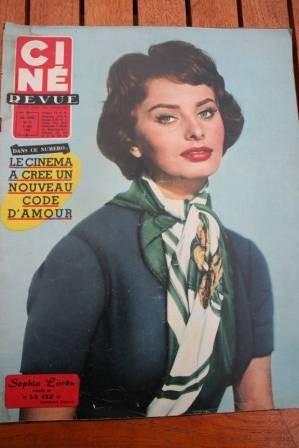 1958 Sophia Loren Ronald Colman Tarzan Miss Universe