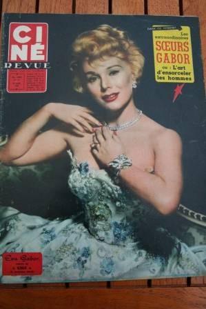 Zsa Zsa Eva Gabor Sinatra Jayne Mansfield Leslie Caron