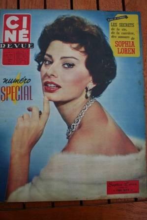 1958 Sophia Loren Kim Novak Tyrone Power Lana Turner