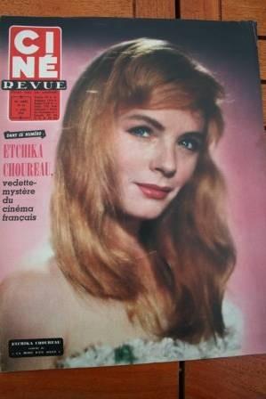 1958 Etchika Choureau Lauren Bacall Rodan Arletty