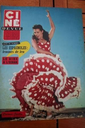 1958 Carmen Sevilla Stewart Granger Romy Schneider