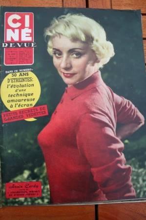 1958 Annie Cordy Dirk Bogarde Yoko Tani Gerard Philipe