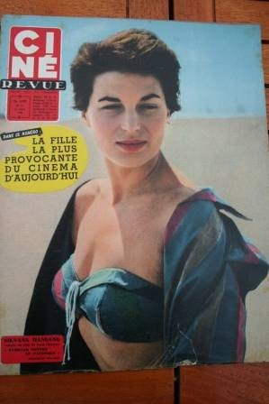 1958 Silvana Mangano Rory Calhoun Anthony Perkins