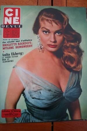58 Anita Ekberg Brigitte Bardot Mylene Demongeot Guitry