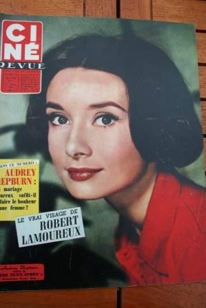 Audrey Hepburn Peter Finch Sophia Loren Romy Schneider