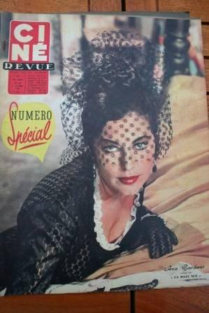 58 Ava Gardner Ingrid Bergman Luis Mariano Dawn Addams